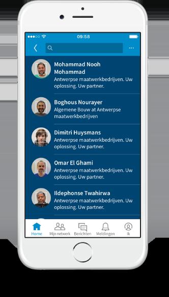 case stad antwerpen maatwerkbedrijven smartphone linkedin 3