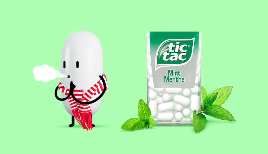 Tic Tac - #refreshingmoments contentplan voor Tic Tac