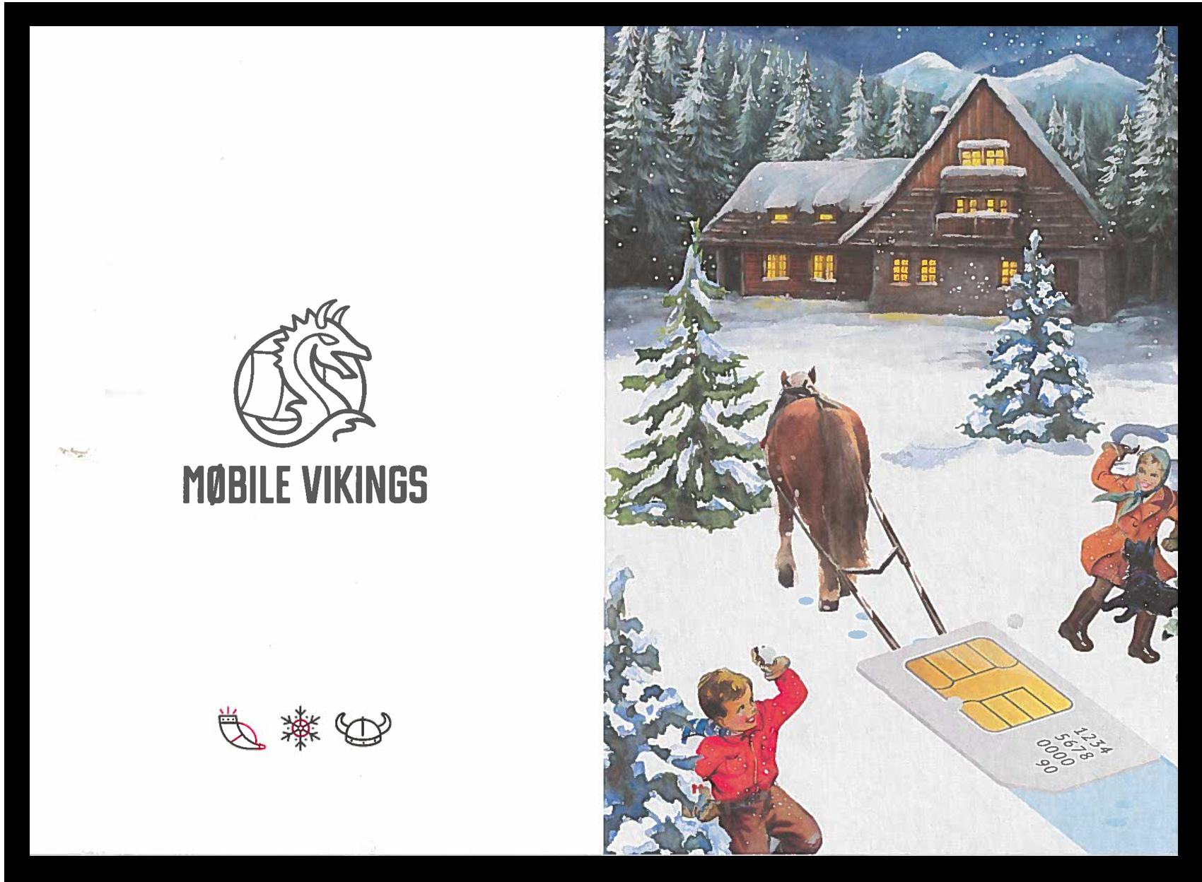 Mobile Vikings - nieuwjaarsbrief