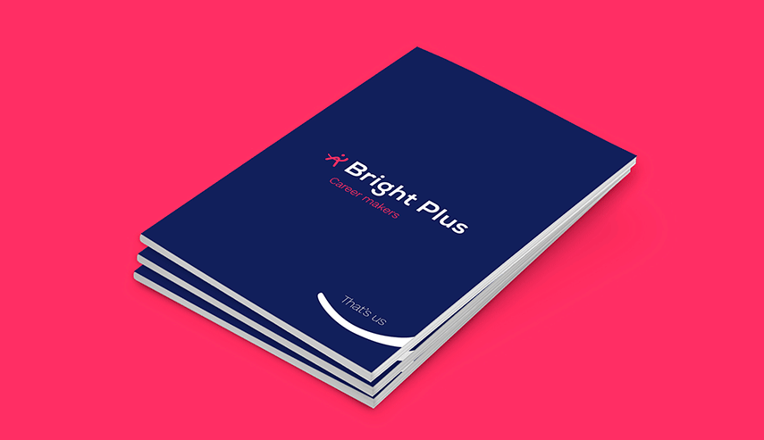 Bright Plus - Hoe we de rebranding van Bright Plus 'body' gaven met een corporate magazine