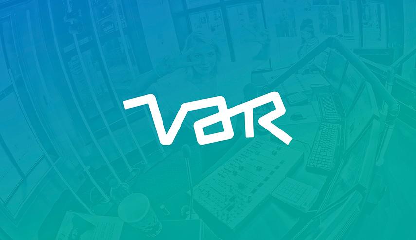 Var - Een flexibele branding voor Var, het media-agentschap dat 8 VRT-merken bedient